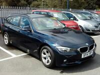 BMW 3 SERIES 320d EfficientDynamics (blue) 2014