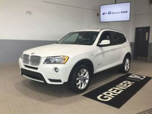 2013 BMW X3 xDrive28i+TOIT PANORAMIQUE
