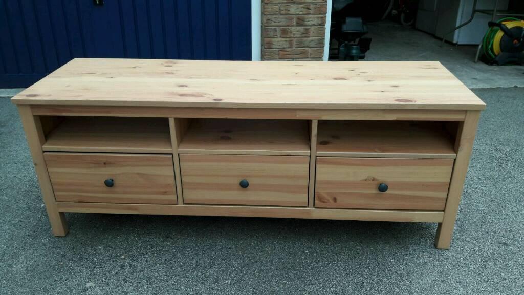 ikea hemnes tv unit in batley west yorkshire gumtree. Black Bedroom Furniture Sets. Home Design Ideas