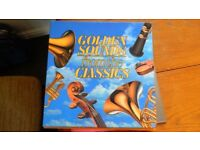 "Boxed set of Lps ""The Golden Sounds from the Classics"
