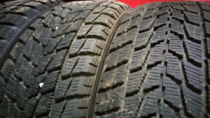 235/60R16 TOYO G-02 plus Open Country Winter Tires