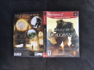 Shadow of the Colossus - PlayStation 2 (PS2) -$20