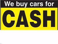WE BUY CARS FOR CASH ON 07417444992