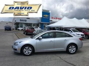 2016 Chevrolet Cruze 1LT 4DR SEDAN, LOADED, AUTO, 1.4L