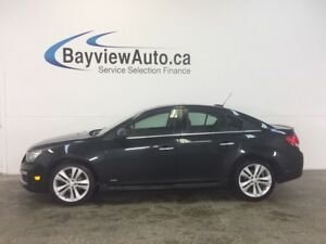2016 Chevrolet CRUZE RS - AUTO! TURBO! REM START! ROOF! CRUISE!