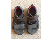 Boys Clarks sandals size 8