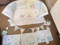 Boys mothercare nursery set