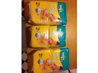 Pampers size 2 nappies 186 nappies
