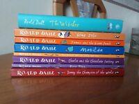 Set of Roald Dahl childrens books