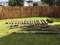 Yew timber