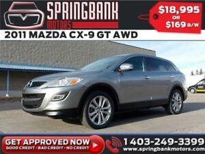 2011 Mazda CX-9 GT AWD w/Leather, Sunroof $129B/W INSTANT APPROV