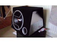 Car amp & Sub + box