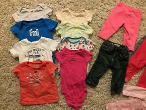 Baby Girl Clothes (6 months)