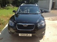 Hyundai Sante Fe Premium CRDI 2011 (7 seater) immaculate condition for immediate sale