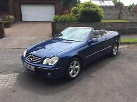 2005 MERCEDES CLK200 AVANTGARDE AUTOMATIC CONVERTIBLE