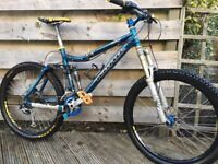 Kona Dawg size medium mountain bike