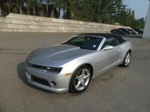 2015 Chevrolet Camaro 2LT,Low KMs,Leather,Convertable,Luxury rim