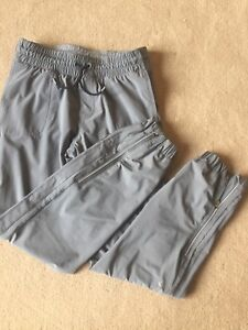 Ivivva Size 12 Grey Lined Studio Pant