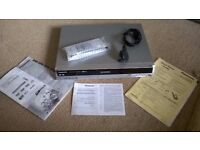 Panasonic DVD Recorder Model DMR-ES10 Region 2 (UK) Complete with Power Cable and Remote Control