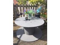 3x Upcycled Wooden Cable Reel/ Drum Ideal For Garden Table Feature Or Barn Wedding Detail