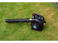makita bhx2500 4-stroke petrol garden leaf blower vacuum 24.5 cc