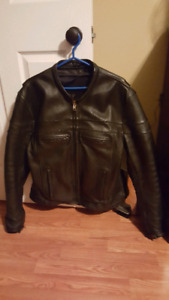 MOTORCYCLE JACKET (LEATHER)