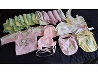 HUGE girls bundle of clothes newborn to 1 year 142 items