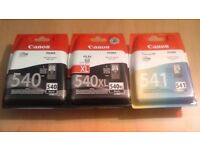 Canon Ink 540 540xl 541