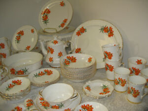 Prairie Lily Tiger Lily China -- FROM PAST TIMES Antiques & Coll
