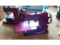 2 x Vulcan Vintage Retro Mini Sewing Machines