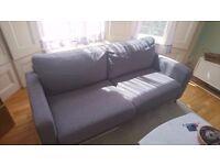 Marks & Spencer - Tromso - Medium Sofa - Grey (new£450) - 2 years old