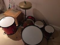 Drum kit for sale-as new condition