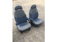 Captain Swivel seats x2 for camper conversion vito sprinter vivaro t4/t5 etc