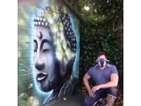 Mural artist/ graffiti artist /airbrush artist