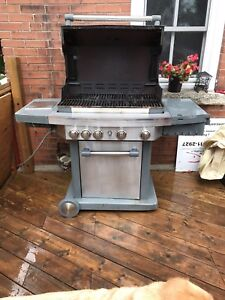 As-Is gas BBQ