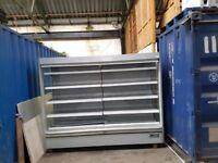 Commercial Multi deck Display Dairy Fridge Cabinet 2.5 meter refrigerated dairy