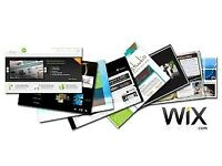 Website Design/ Blog/ E-Commerce (Wix)