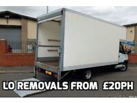 🚚LOW-COST REMOVALS, man and van FROM £20PH