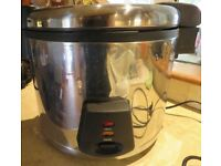 LARGE COMMERCIAL BUFFALO RICE COOKER.