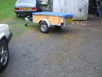 Refurbished Single Axle 750kg trailer