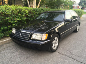 1998 Mercedes-Benz S320 no rust, everything works