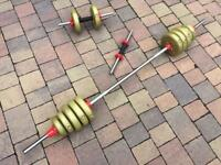 York barbell and dumbbell weights