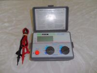ISO-TECH IIT-2302 lnsulation & Continuity Tester - Good Condition and Works Perfectly