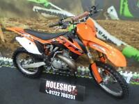 KTM SX 250 Motocross Bike DEP exhaust