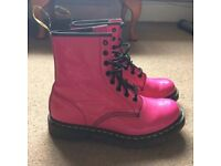 OFFERS ACCEPTED - Doc Martens Airware Pink Boots - UK Size 6