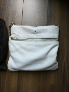 KATE SPADE: LEATHER SIDE SATCHEL PURSE w/ bonus wallet!