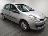2007(07)RENAULT CLIO 1.5 DCi EXPRESSION MET SILVER,NEW SHAPE,£30 TAX,BIG MPG,GREAT VALUE
