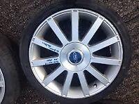Ford fiesta st150 alloy wheels
