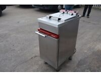 Double Chip Fryer Commercial Catering Equipment in good condition