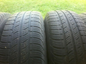 4 BF Goodrich Touring Tire/ rim for sale.